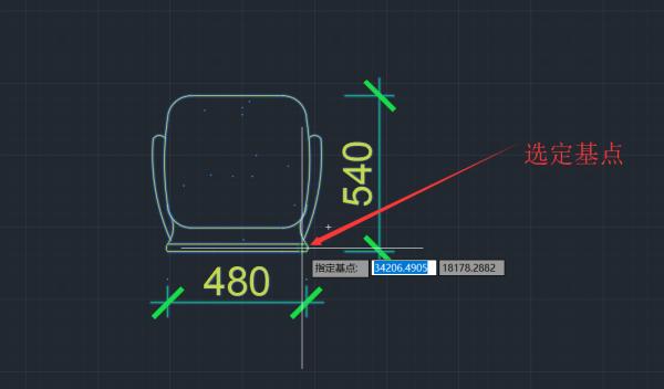 放大CAD布局视口缩小修改的图,带有出来cad总是显示图层复制图片