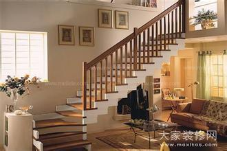 农村二层楼房图纸120平方米四房一厅内有楼梯设计图图片
