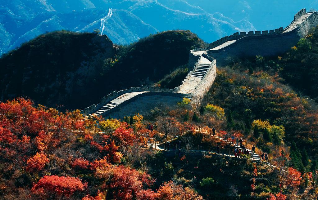 北京秋色之长城篇_旅行画册旅行图片_百度旅游
