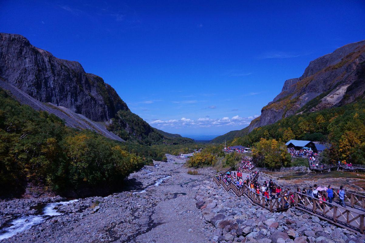 长白山u型大峡谷图片