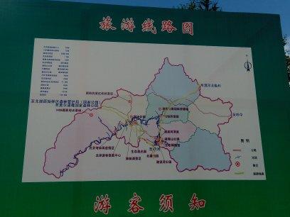 旅游路线图图片