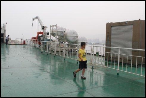 游记  烟台,蓬莱,长岛豪华自助游  14:00登上万通海客轮,我们的船票
