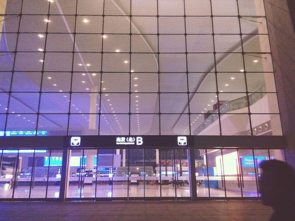 可以冒充飞机场的火车站~图片