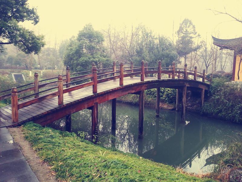 高清木桥材质素材