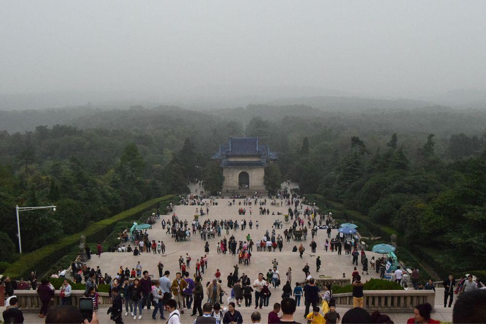 南京钟山风景区 明孝陵 中山陵 灵谷
