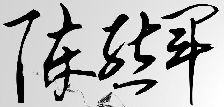 陈熊军现代签名设计图片
