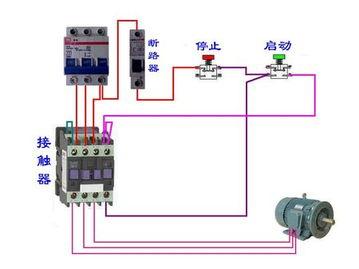 正泰cjx2-3210 交流接触器接线图