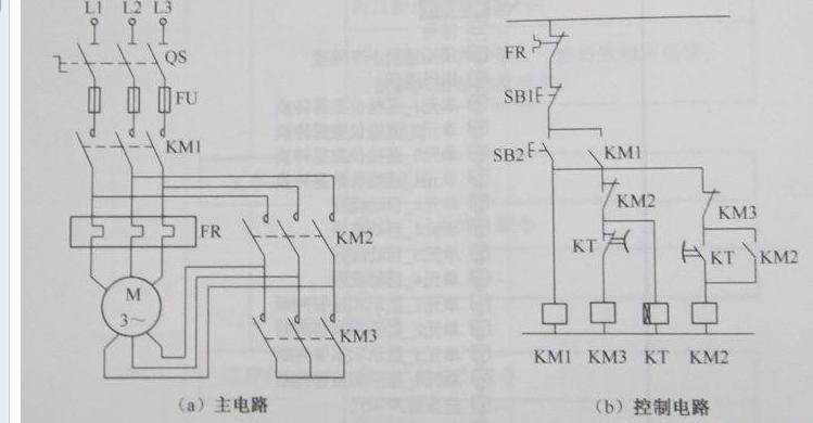 要接星三角启动,如果单个接触器只有一个常闭或者常开