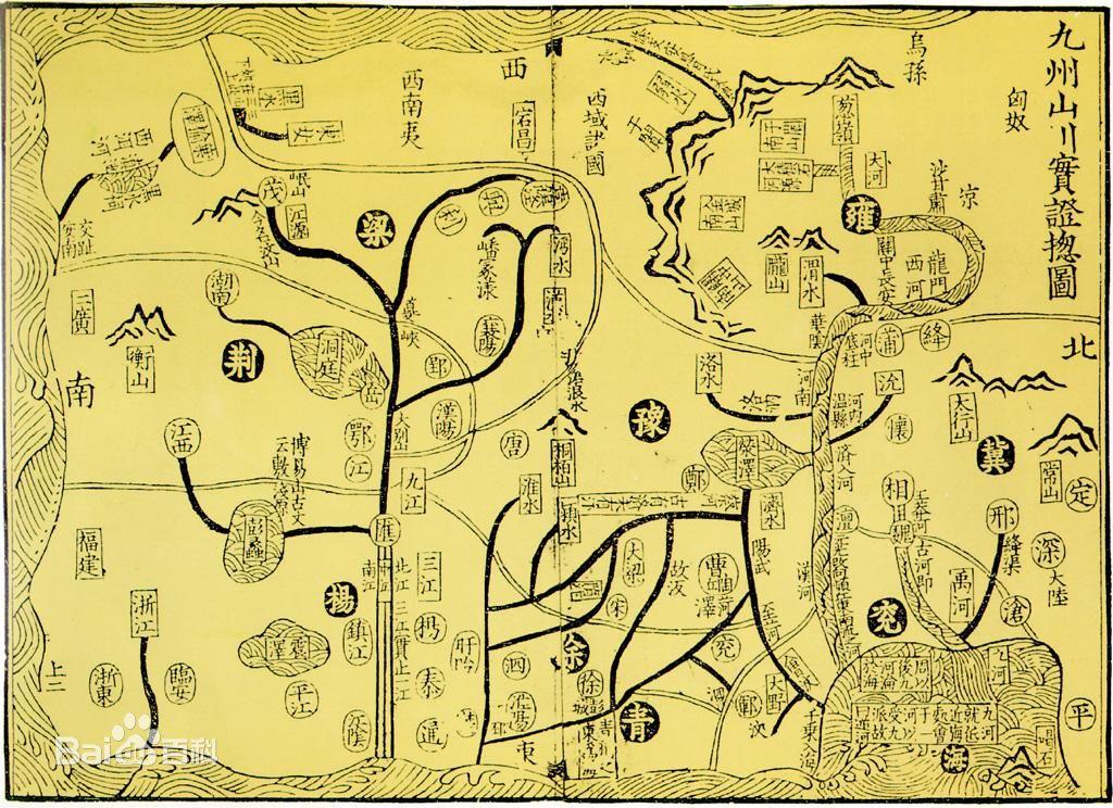 古代手绘地图