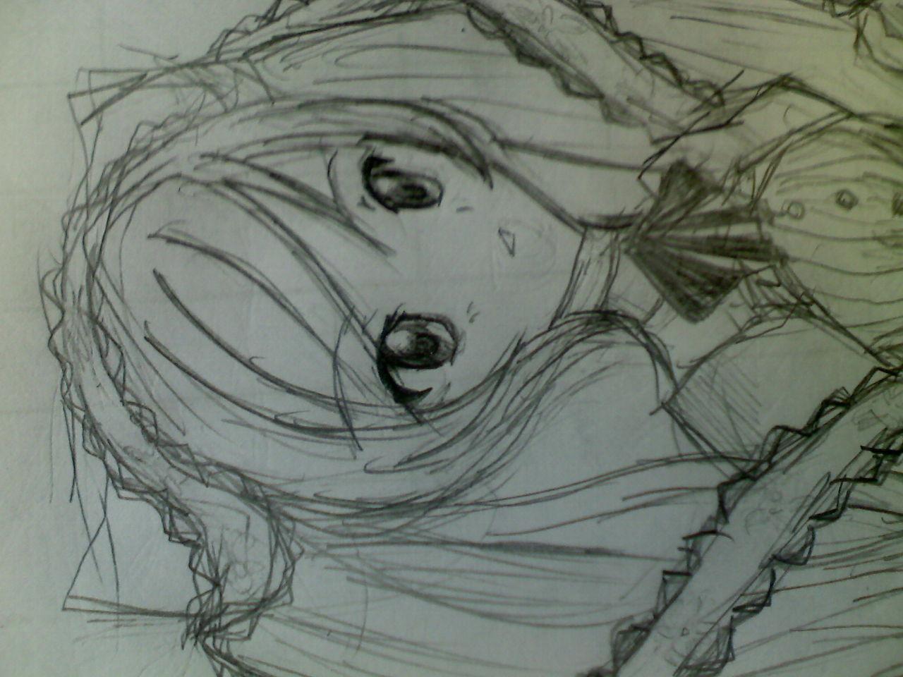 田柾国动漫手绘素描