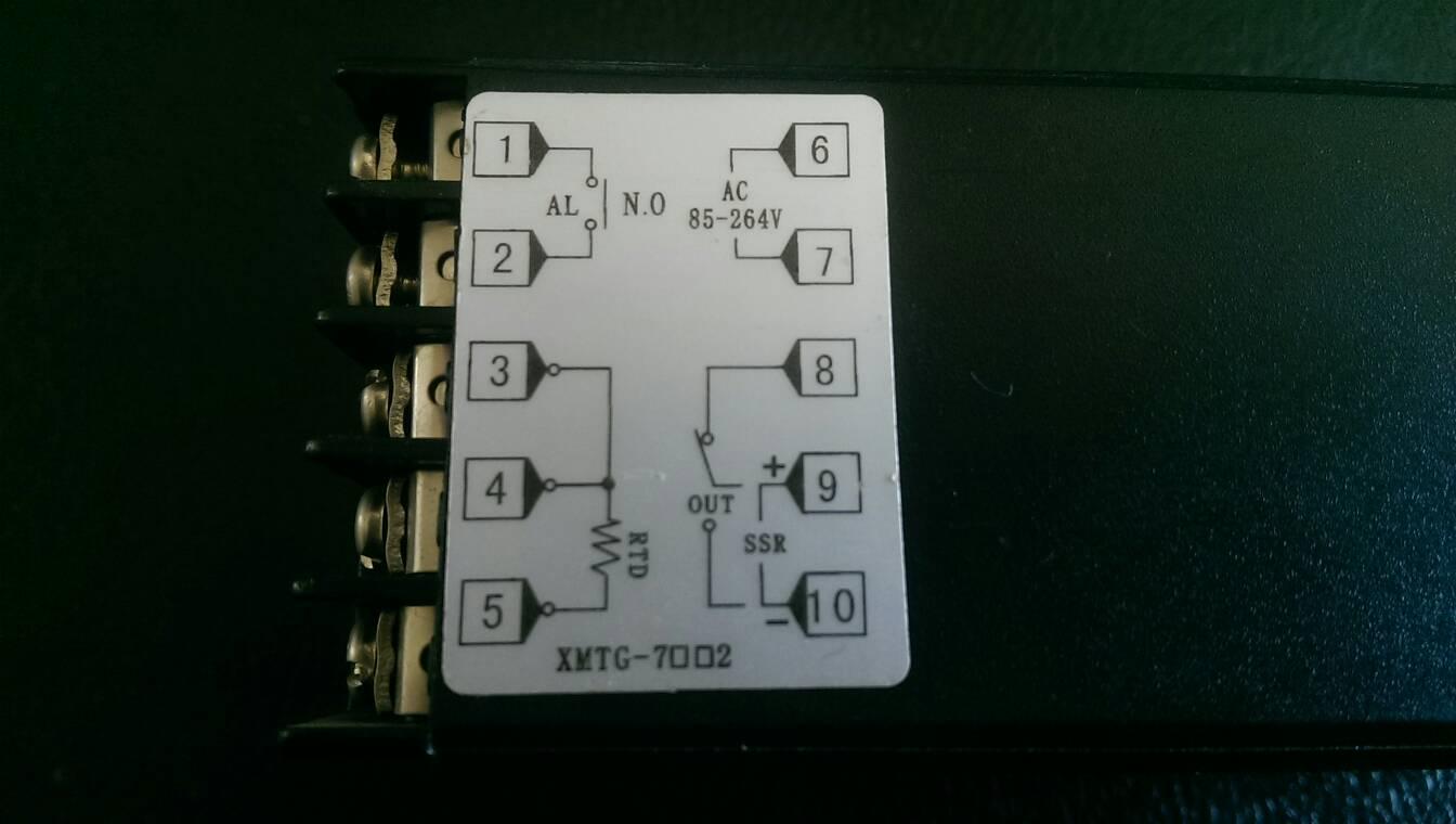 请问这个温控器怎么接线?已经可以正常显示探测的温度