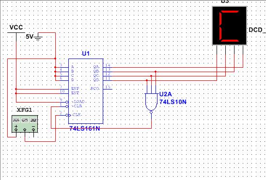用74l161实现十四进制的计数器电路图.谢谢