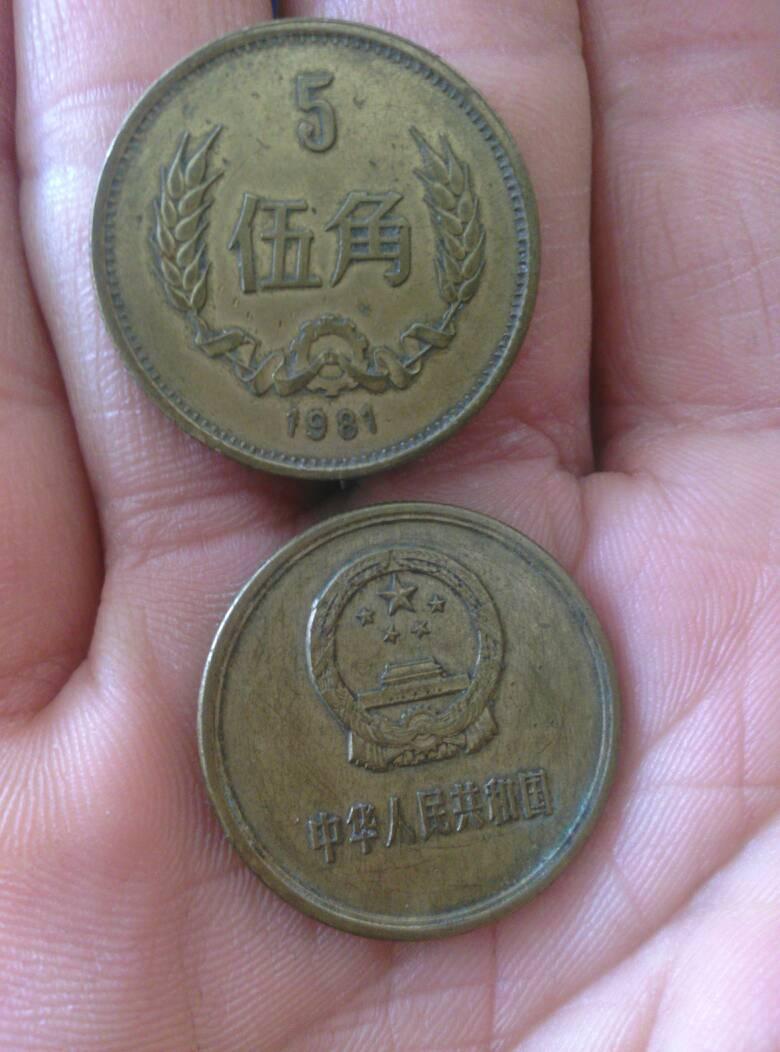 1981年的五角硬币值多少钱