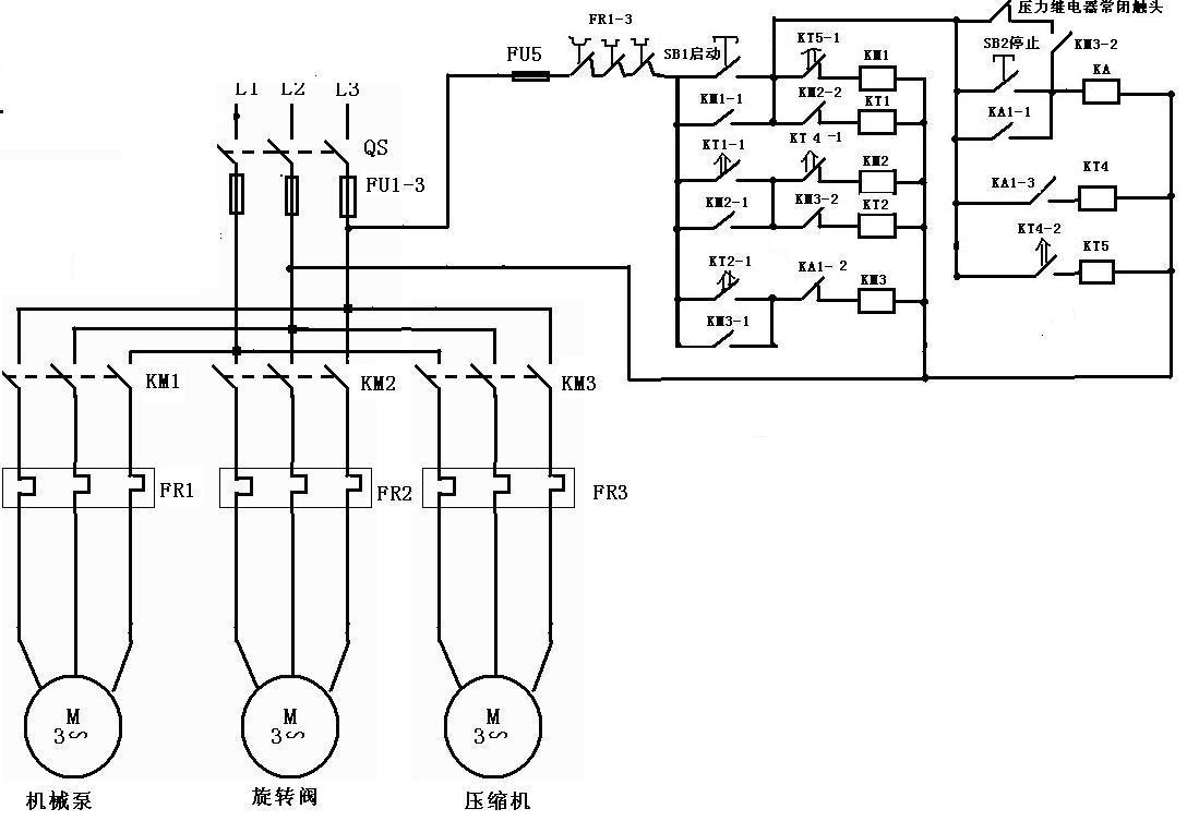 双速电机接线图和工作原理