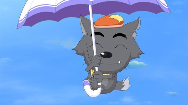 找个 头像 qq头像 灰太狼的那种 萌萌哒头像 最好是 灰太狼踩着