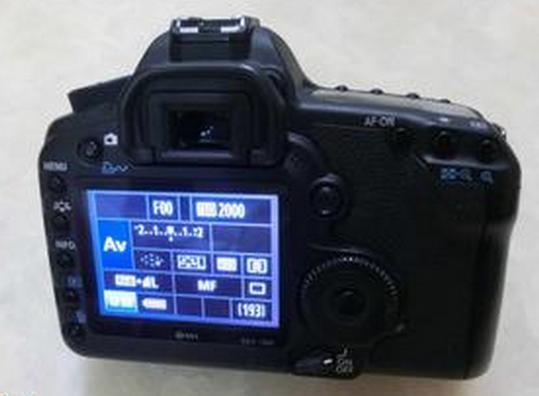 佳能5d2相机如何修改照片格式?图片