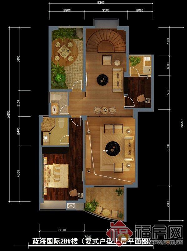 求90平方的两层房屋设计图
