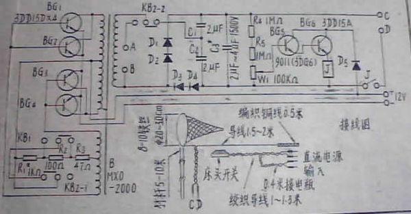 怎样做个场管自激电鱼机了?不要保护的会简单些吗?