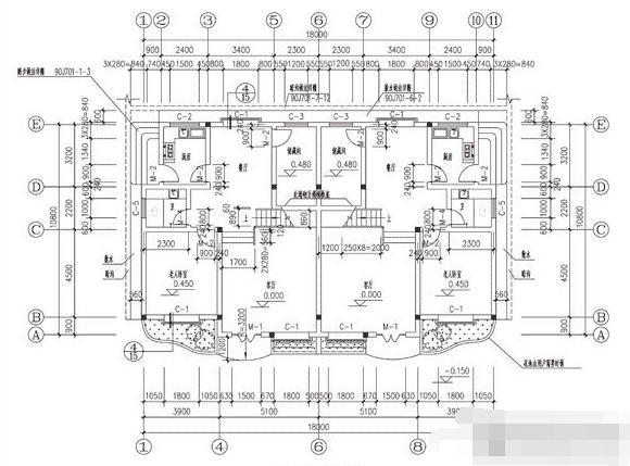 95平米地基农村别墅怎样设计结构 要图纸