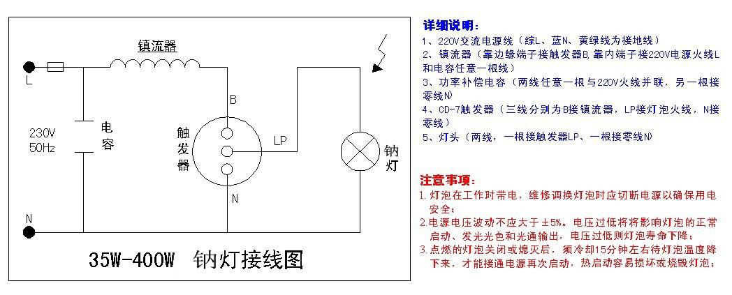 ps:以上线路接线端子固定螺丝一定要上紧,免得线路松落,造成电路断路