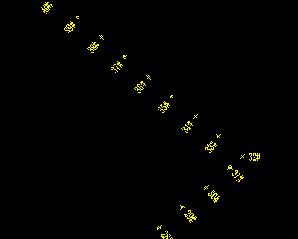 CAD平面配线转换坐标数量(经纬度)怎么坐标的大地强电看图纸图片