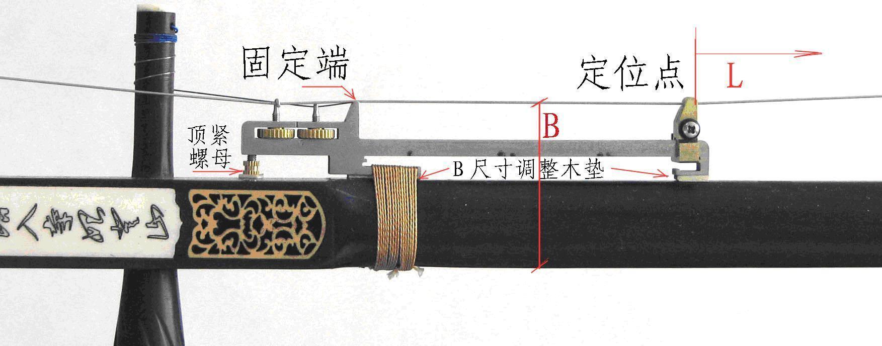 赠送附件:捆扎线2根,垫材1块(用于垫在琴杆和千斤之间的,防止二胡杆图片