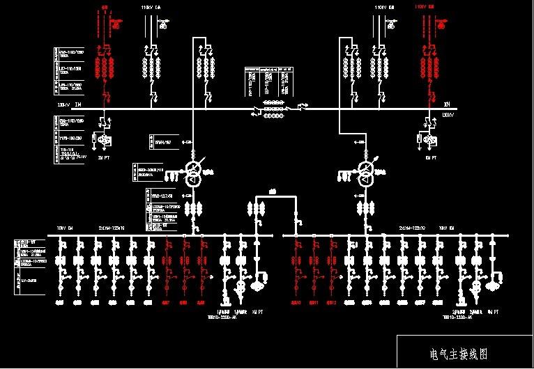 110kv变电站电气一次部分初步设计  主接线,单母分段 变压器两台16