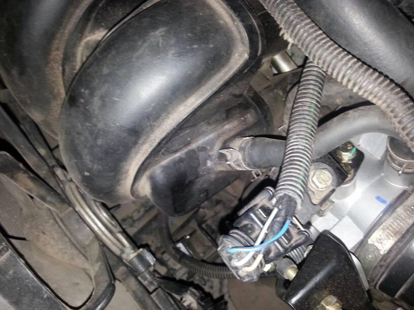这是什么管子?吉利远景09款发动机!