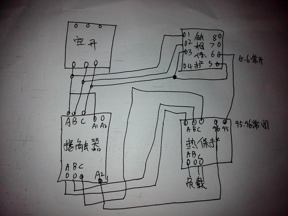 xj3一g接线实物图