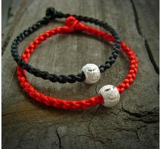 怎么用红绳编这种手链?