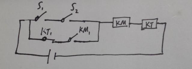 请问怎么用继电器来设计延时断电电路?