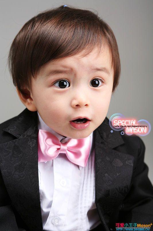 有谁知道韩国或国外的可爱小孩子的名字,图片!