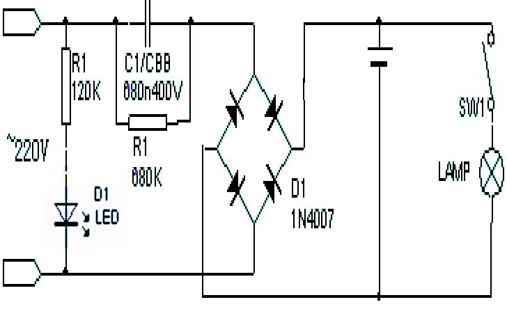 有一个阻容降压的电路提供电压给1.2v 80mah的镍氢电池充电问题.