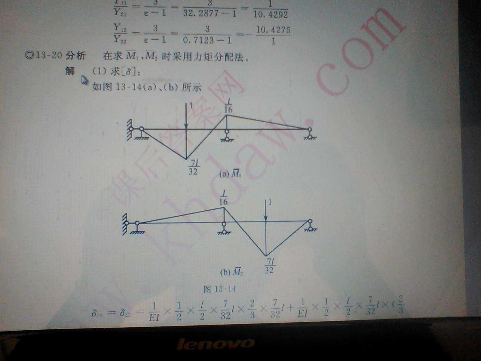 结构力学 此图弯矩图 怎么画