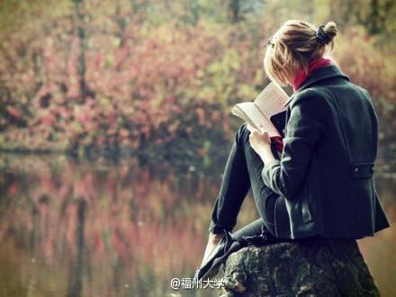 女生读书图片(唯美)