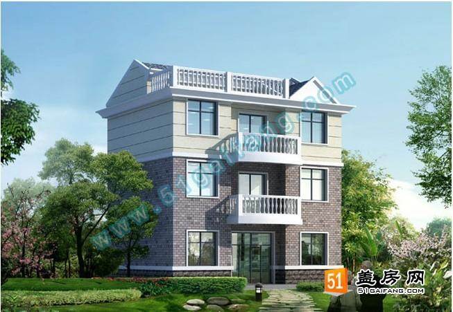 求 婺城三层砖混结构实用农村楼房设计图(带结构图,效果图)10x9