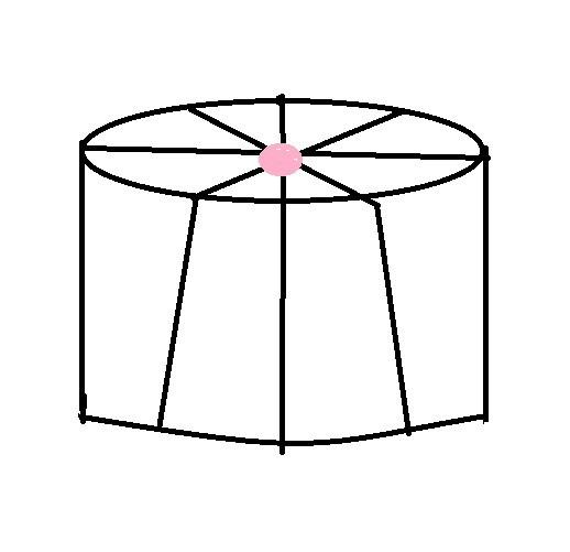 右图是一个蛋糕盒,盒上扎了丝带,盒子底面周长为75.36