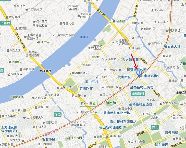 上海市浦东新区张杨路3738号是属于中环以内,外环以外,还是中环外环