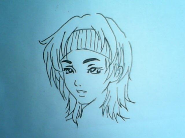漫画人物的头发怎么才能画的好?男的帅,女的美!