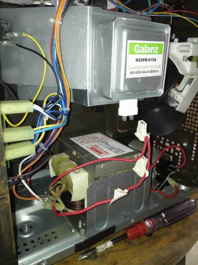 微波炉磁控管怎么接线?怎样与高压变压器线连接?
