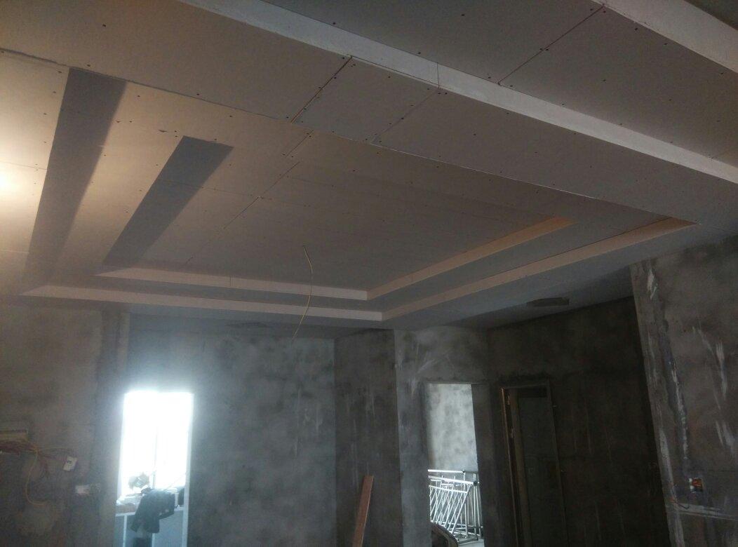 二级吊顶结构�_二级吊顶装修效果图