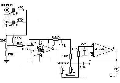 低通有源滤波器
