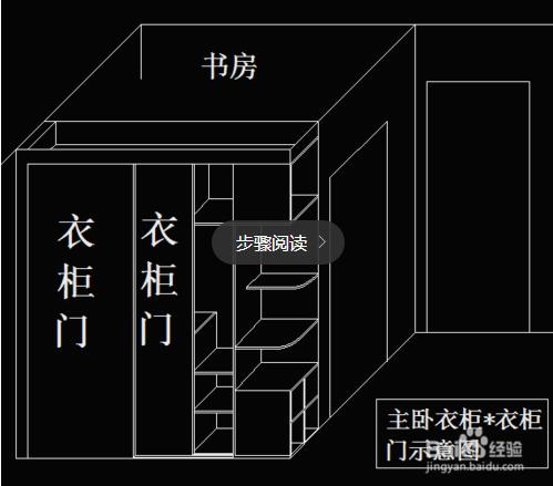 衣柜制作步骤图及图纸