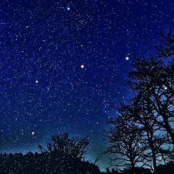 跪求这一类的照片! 暗夜星空