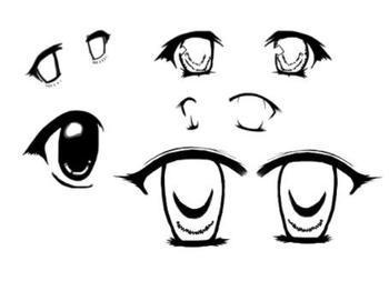 有没有画动漫人物眼睛的图片