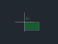 CAD2015光标出现时靶框右上角拖动一个虚框cad功能区图标v光标面板图片