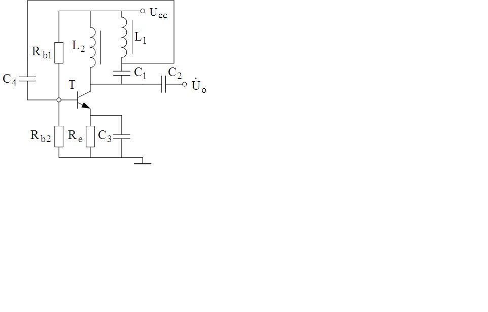 属于反相放大器,谐振时lc带通滤波器分压比为负,负负得正,获得正反馈