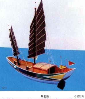 古代木帆船图片