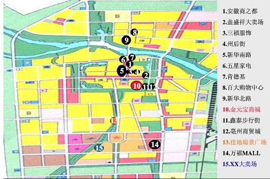 亳州南部新区的规划布局