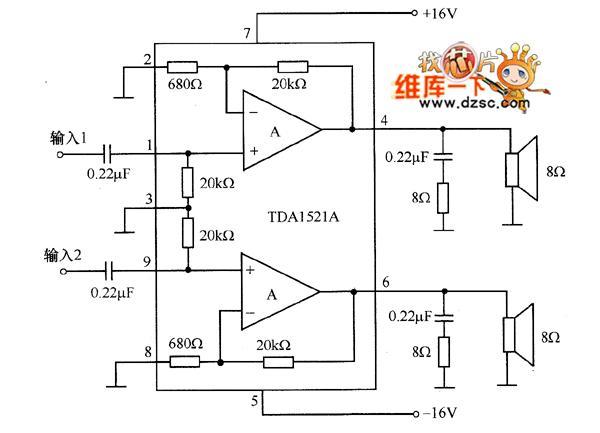 有没有简单易完成的功放电路,求图